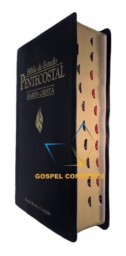 frete grátis bíblia de estudo pentecostal com harpa média