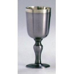 frete grátis- cálice taça vinho 140ml - estanho john somers