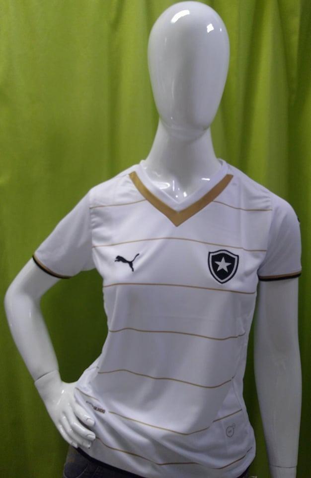 c49cfb3f6d Frete Gratis! Camisa Botafogo Feminina Oficial Puma 2013 14 - R  98 ...