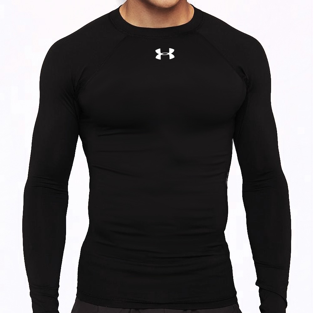 Frete Grátis Camisa Compressão Under Armour Com Proteção Uv - R  99 ... e4dd5297057a5