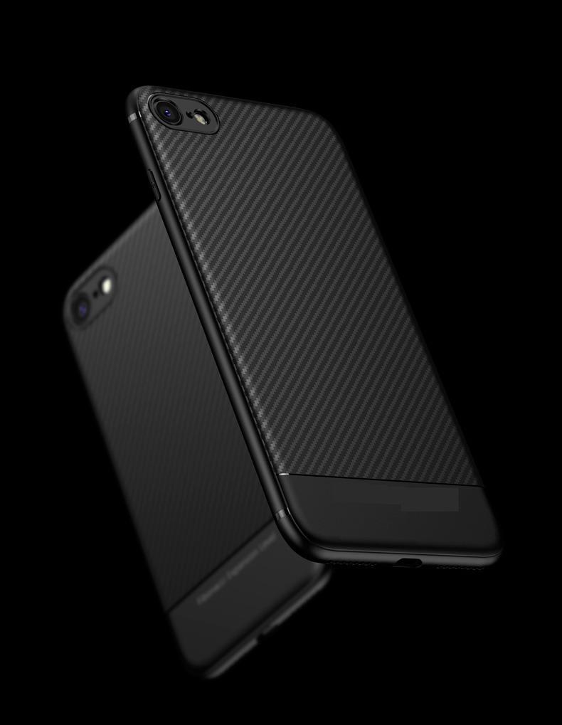 31aad019f Frete Grátis Capinha Capa iPhone 6 6s Fibra De Carbono Tpu - R$ 87 ...