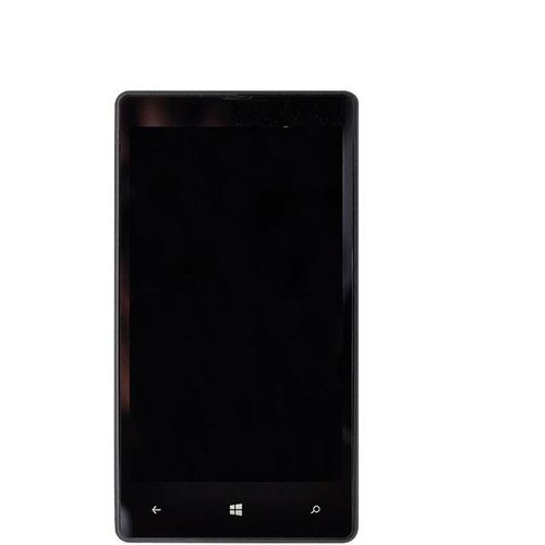 frete grátis! display lcd + touch screen nokia lumia 820