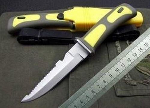 frete gratis faca de mergulho caça pesca submarina