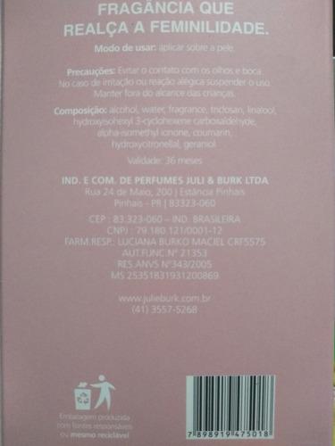 frete grátis - hora íntima - julie burk - original - 100ml