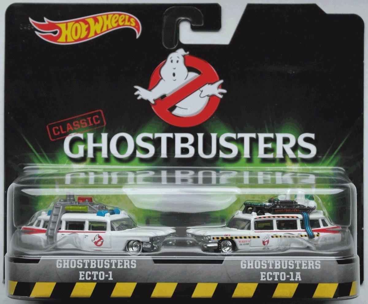 NG112 Hot Wheels Ghostbusters Pack Ecto1 Ecto 2