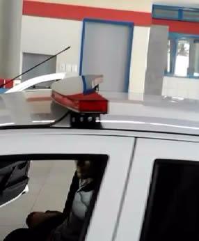 frete gratis - kit 2 giroflex asa led, direto fabricante