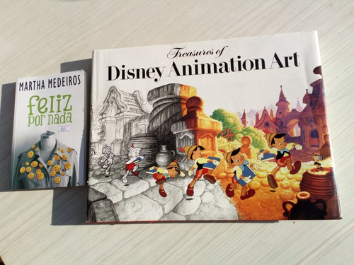 frete grátis livro treasures of disney animation art inglês