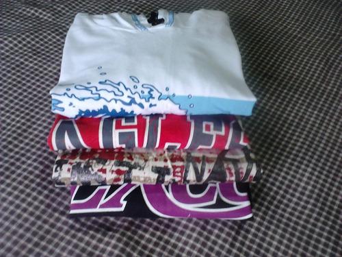 frete gratis! lote 4 camisetas regatas por 1 preço! tam 16