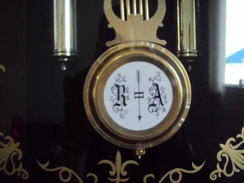 frete grátis relógio parede carrilhão pendulo westminster