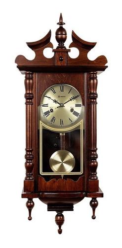 frete grátis relógio parede corda carrilhão 80cm herweg 5352