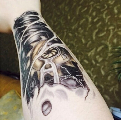 frete grátis * tatuagem temporária - fake tattoo ref:139