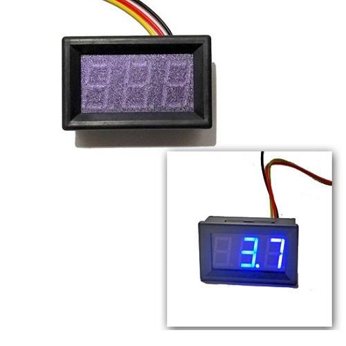 frete gratis voltímetro digital com remote 0~100v original