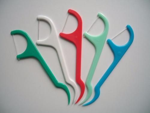 frete r$6 higiene bucal dentes floss pick fio dental 25peças