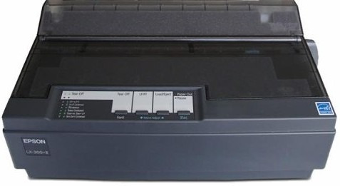 frete único impressora epson matricial lx-300+ ii usb preta