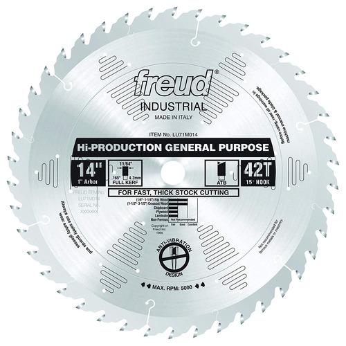 freud 14 -inchx 42t alto - hoja de uso general para producci