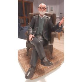 Freud Escultura 3d Pintada À Mão Precisão Nos Detalhes