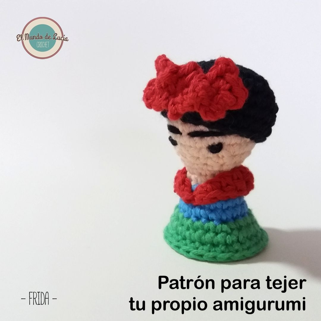 Frida Amigurumi. Patrón Para Tejer Muñeco Al Crochet - $ 33,00 en ...