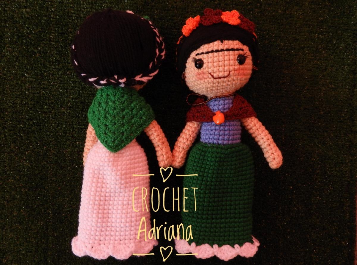 Amigurumi Frida Kahlo : Amigurumi en proceso frida kahlo ñomñom crochet