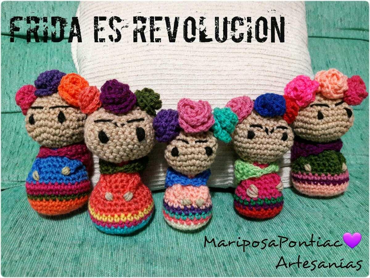 Amigurumis De Frida Kahlo : Llavero frida amigurumi llaveros a crochet m facebook