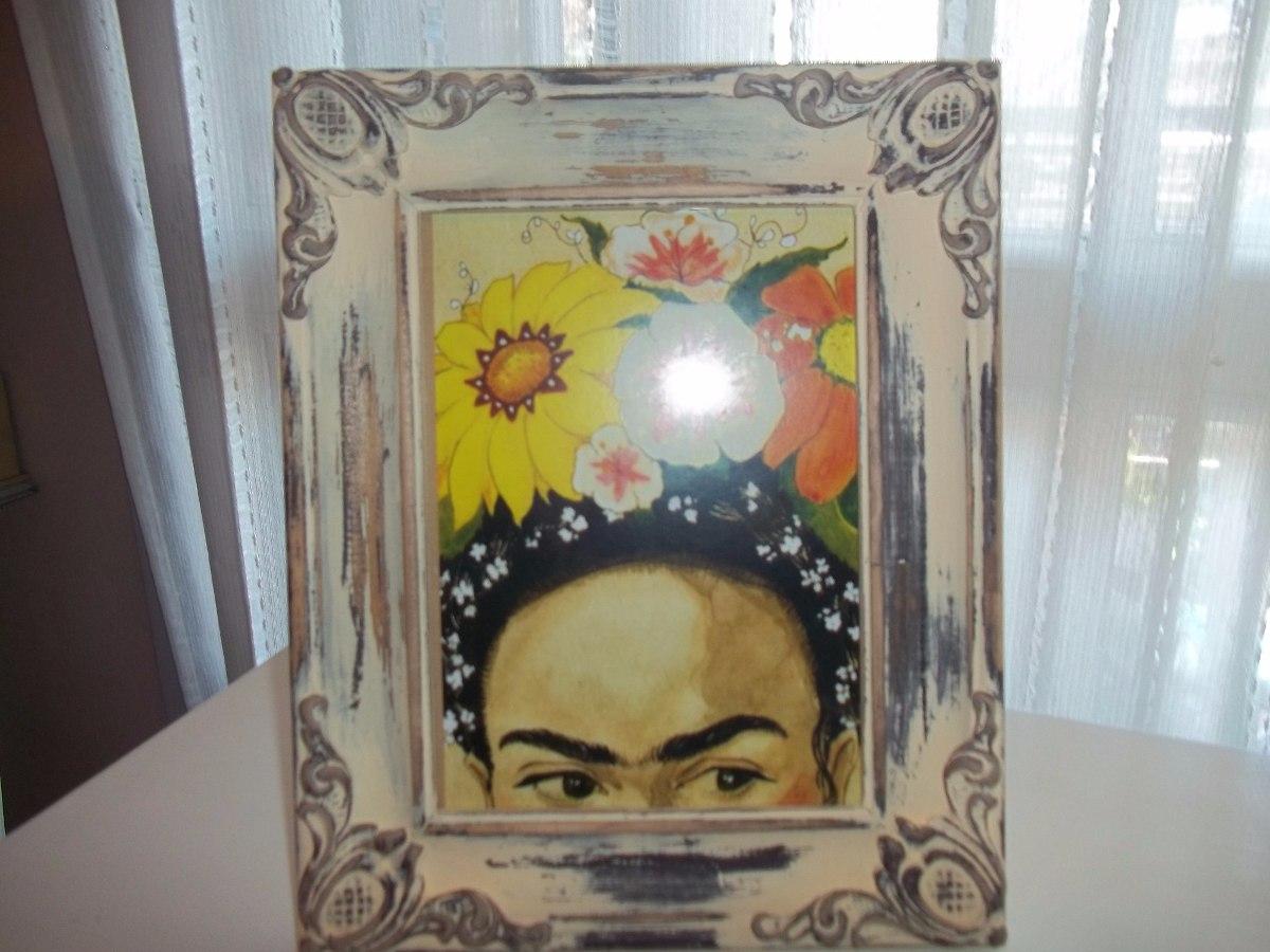 Frida Kahlo Marco Cuadro Portaretrato - $ 550,00 en Mercado Libre