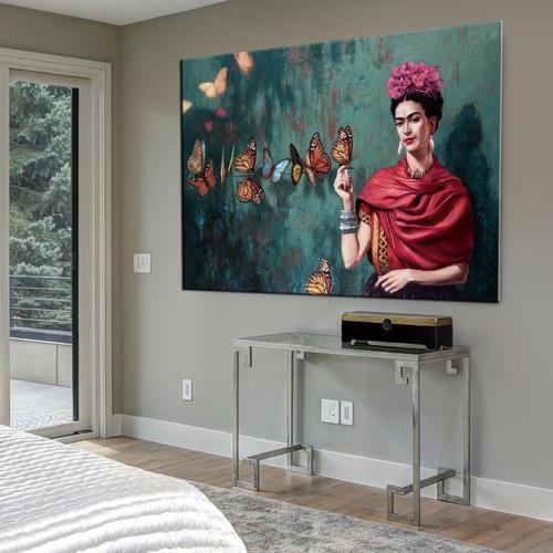 frida kahlo murales 120x80 en tela canvas