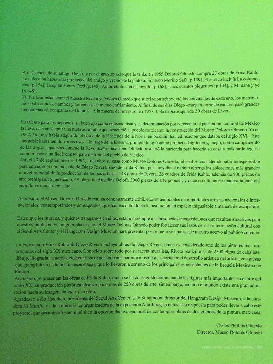 Frida Y Diego  Colección Dolores Olmedo  4 Idiomas