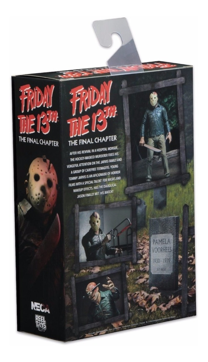 """ULTIMATE JASON VOORHEES NECA Friday The 13th PART 4 FINAL CHAPTER 2017 7/"""" FIGURE"""