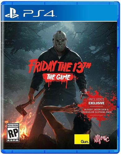 friday the 13th the game ps4 físico original envio grátis.
