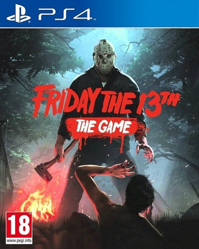 friday the 13th the game ps4 juego playstation 4 fisico