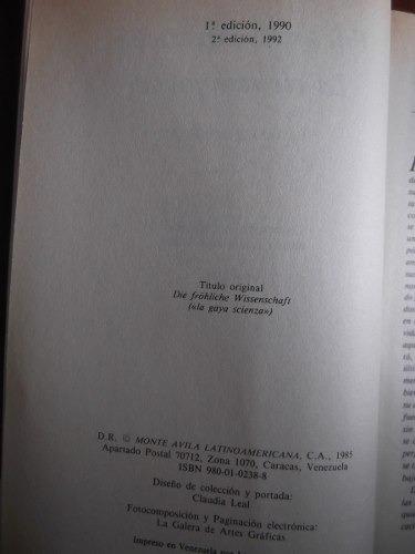 Nietzsche La Gaia Scienza Pdf