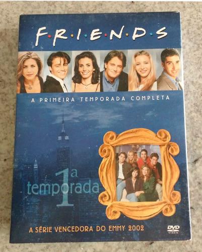 friends 1ª temporada box c/ 4 dvds digipack original