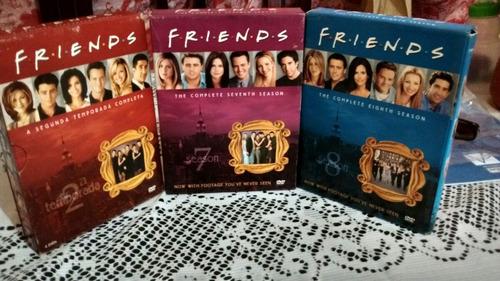 friends - 2° , 7° e 8° temporada completa
