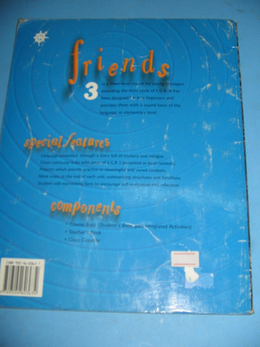 friends 3 integrated course book richmond $ 620 usado