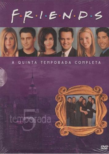 friends  5ª temporada - box com 4 dvds - digipack - lacrado