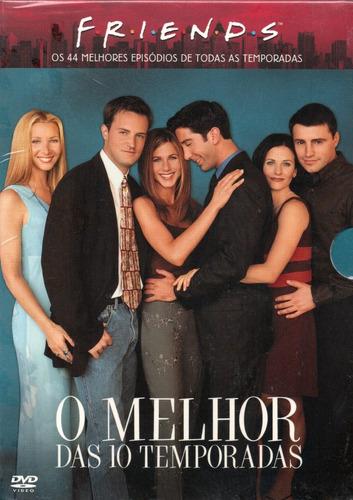 friends dvd o melhor das 10 temporadas novo original lacrado