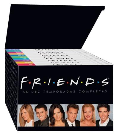 friends série completa 10 temporadas 40 dvd's