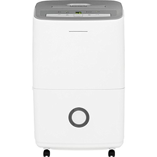 frigidaire 30-pint dehumidifier with effortless humidity con