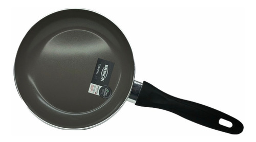 frigideira 20cm 0,6l smart preta brinox 4791-340