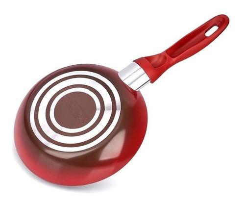 frigideira 20cm 0,6l smart vermelha brinox 4789-334
