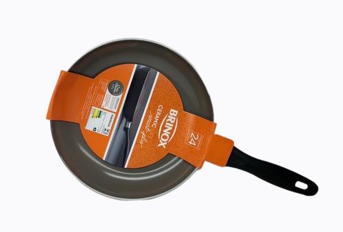 frigideira 24cm preta antiaderente ceramic smart 4791/342