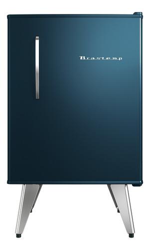 frigobar brastemp retrô 76 litros midnight blue bra08bz