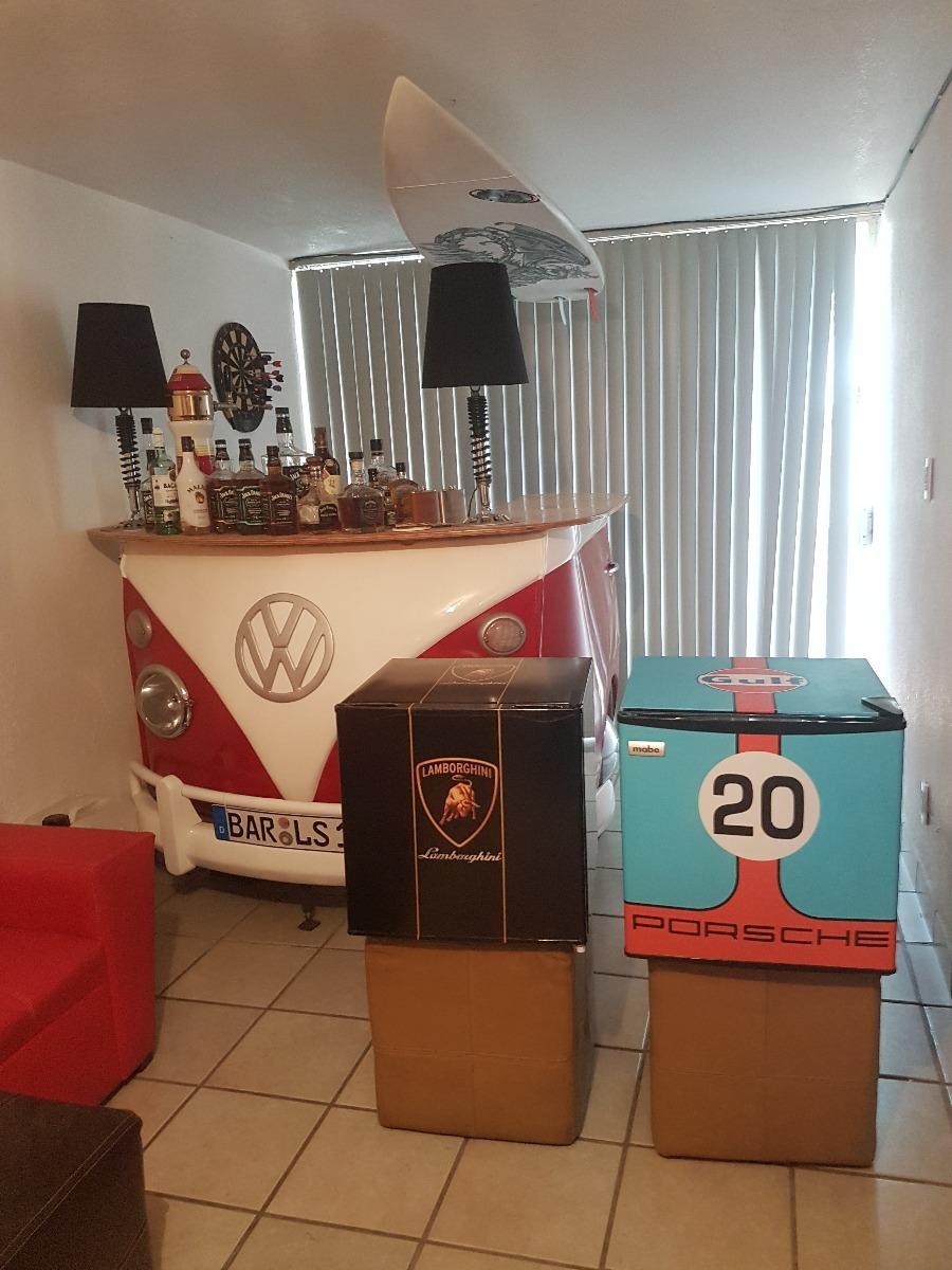 Muestra de frigobares en una casa