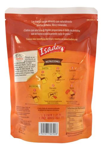 frijoles isadora claros enteros en bolsa 430 gr