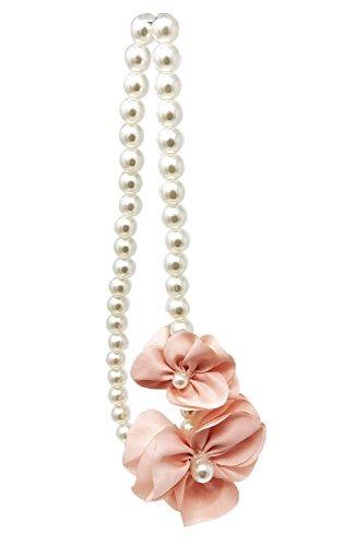 65e5dd7bd688 Frills Collar De Perlas De Flores Para Niñas - ¡el Accesori ...