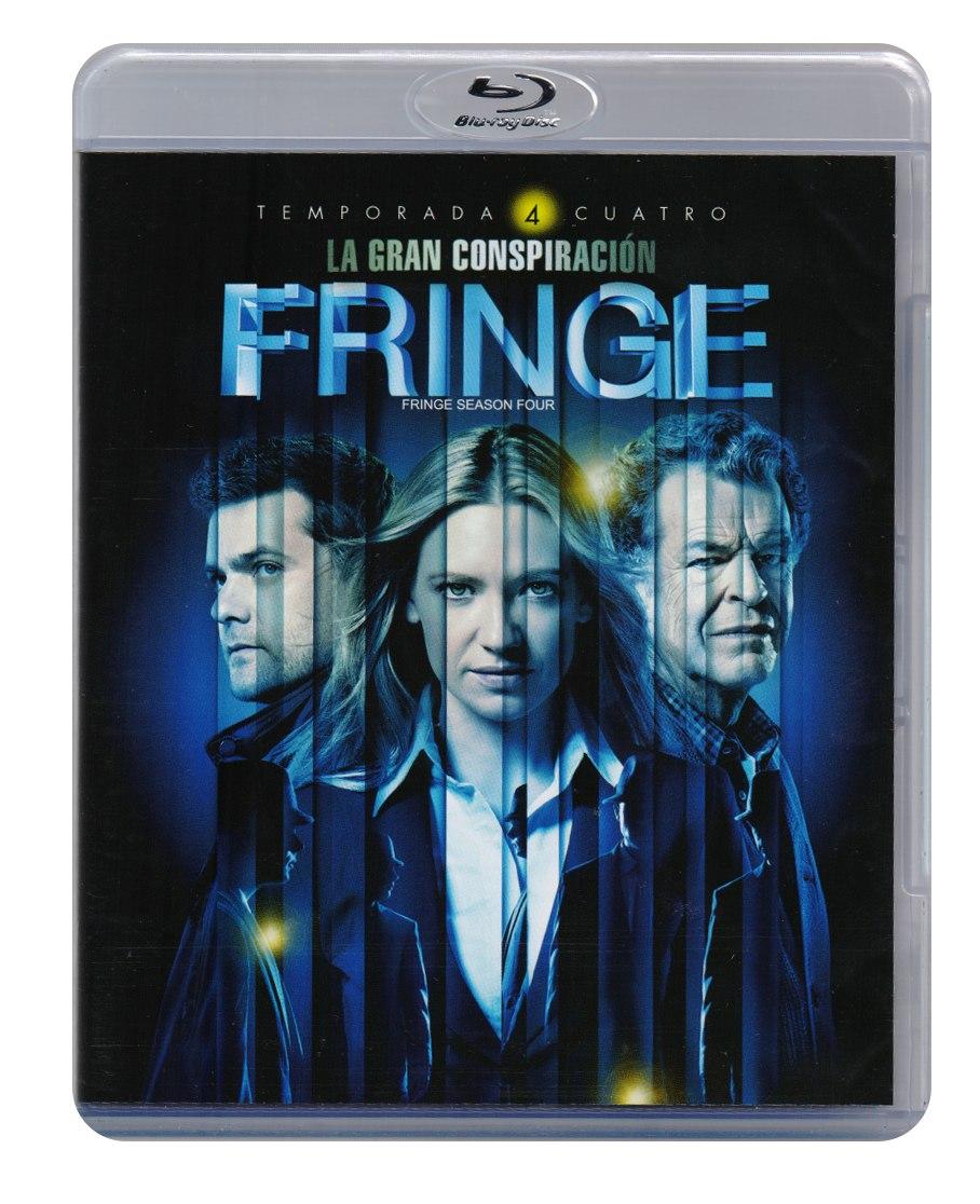 Fringe Cuarta Temporada 4 Cuatro Blu-ray - $ 399.00 en Mercado Libre