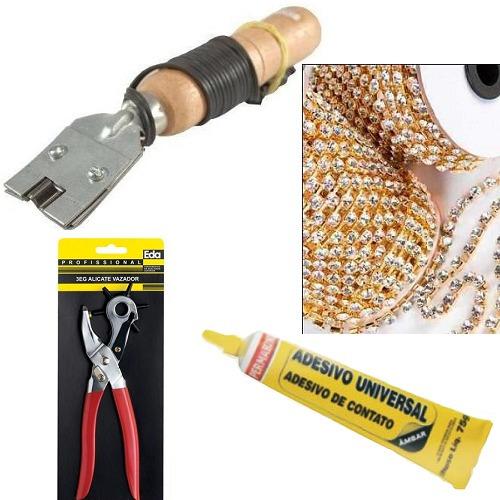 frisador de chinelos eva maquina de frisar kit completo