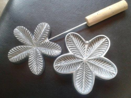 frisador em aluminio calandra riscada 5 petalas frete grátis
