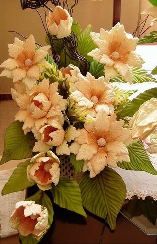 frisador em resina para flor de eva - papoula cipreste