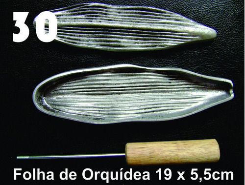 frisador modelagem de flores tecidos e eva flor orquídea 30