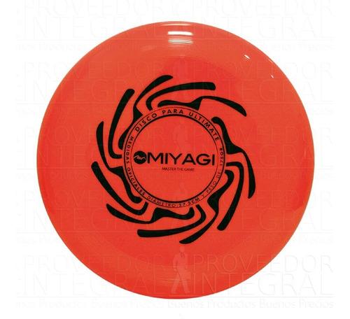 frisbee frisby ultimate original miyagi 27 cm color surtido